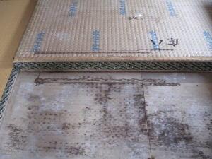 畳と床板の被害