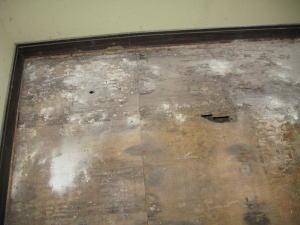 畳下の床板